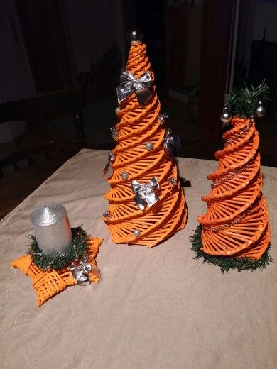 Deko in orange
