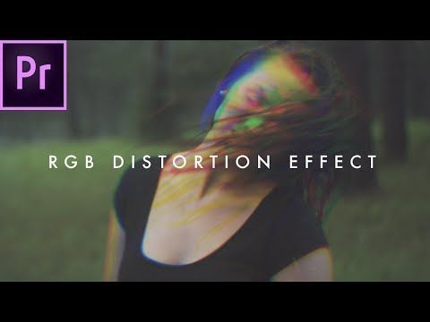 How To Create an RGB Glitch Effect (Distortion) | Premiere