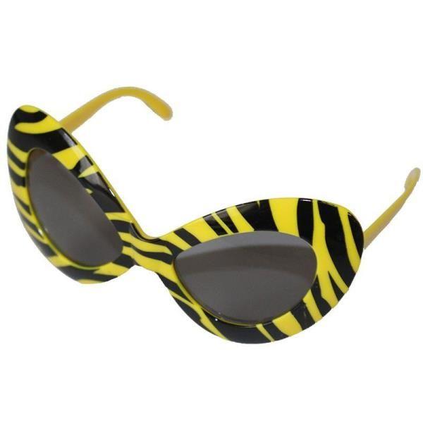 Sarı Siyah Tarz Gözlük