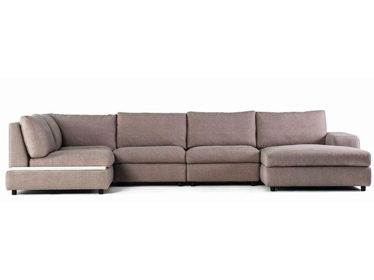 Sofá composable modular de tela AKORD by prostoria Ltd