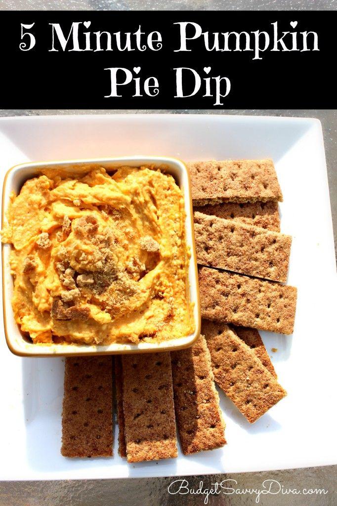 Pumpkin Pie Dip | Recipe