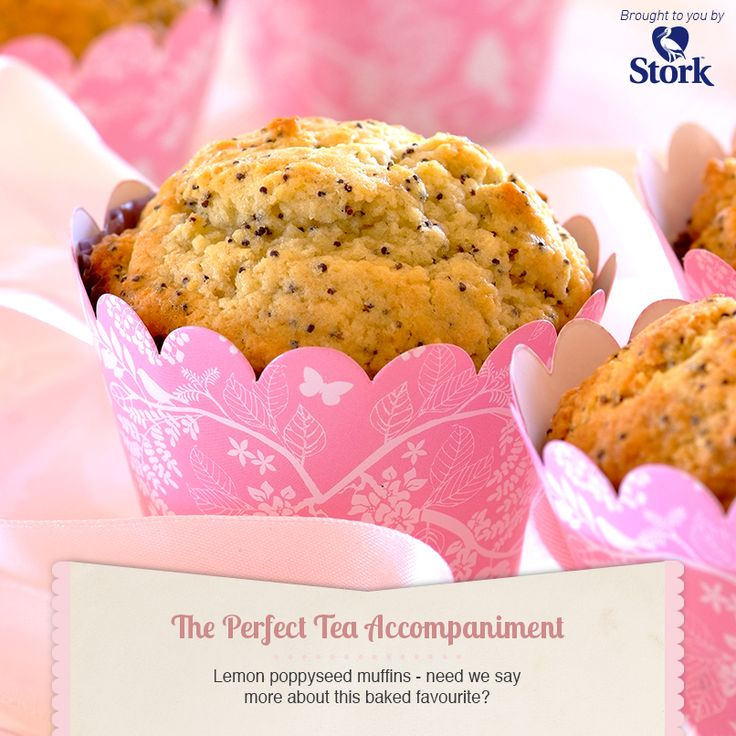 Lemon and poppyseed muffins #recipe