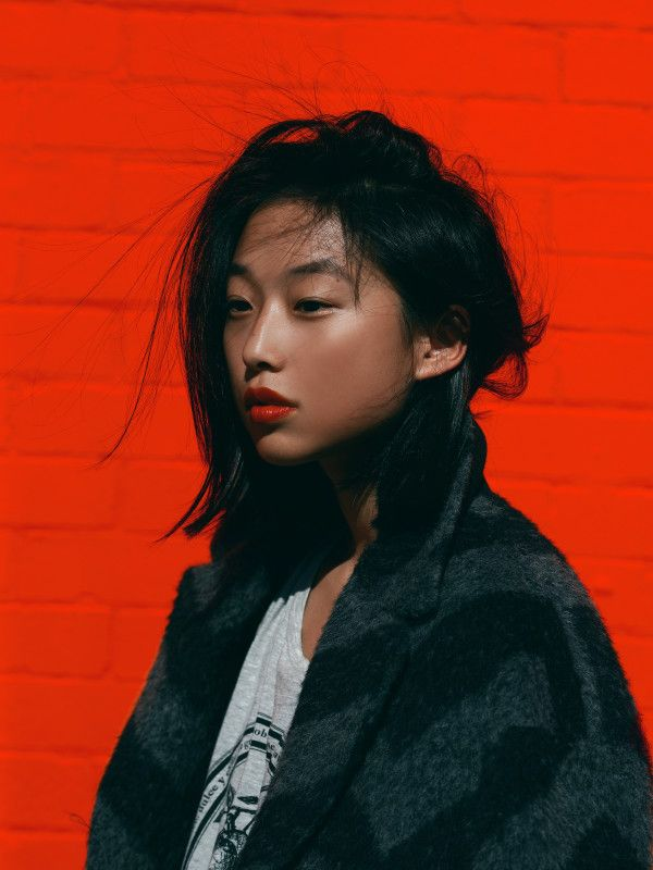Red wall - Margaret Zhang - Fashion - Beauty