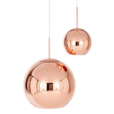 Kobber Round pendel fra Tom Dixon. En vakker og elegant lampe laget av kobber med stor presisjon. De...