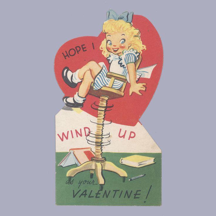 details about vintage valentine's day card valentine 1940s