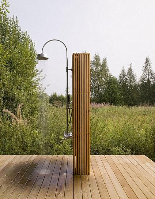 portable outdoor showers for modern backyard designs
