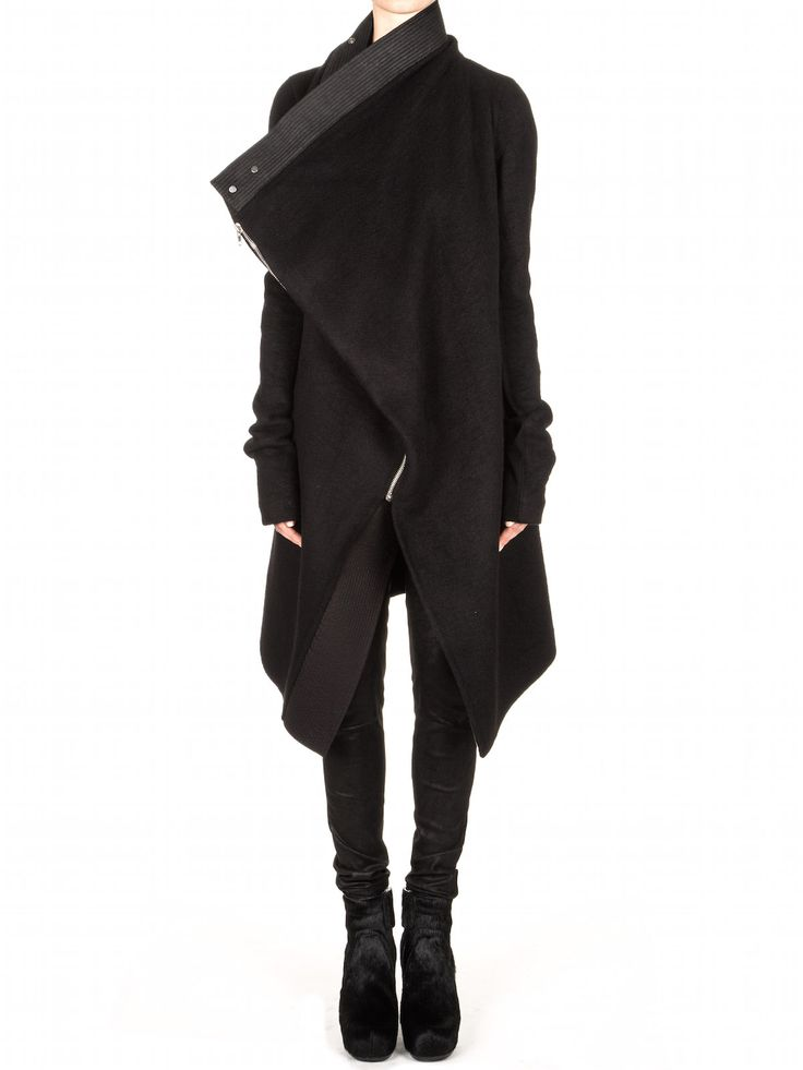 RICK OWENS - JACKETS. I want this so bad.