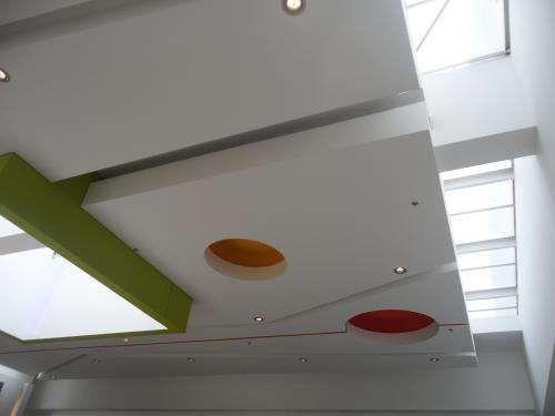 Techos En Drywall En Placas Colgantes Buscar Con Google