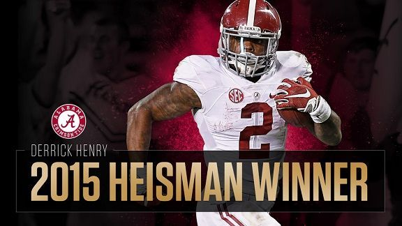 The Heisman has been a quarterback award for almost all of the past decade-and-a-half, but Derrick Henry's season was too good to go unrewarded.