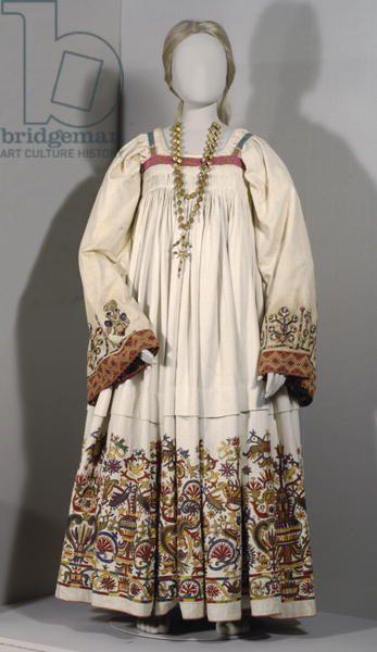 Actual Renaissance Garb - extant greek dress Benaki museum, athens