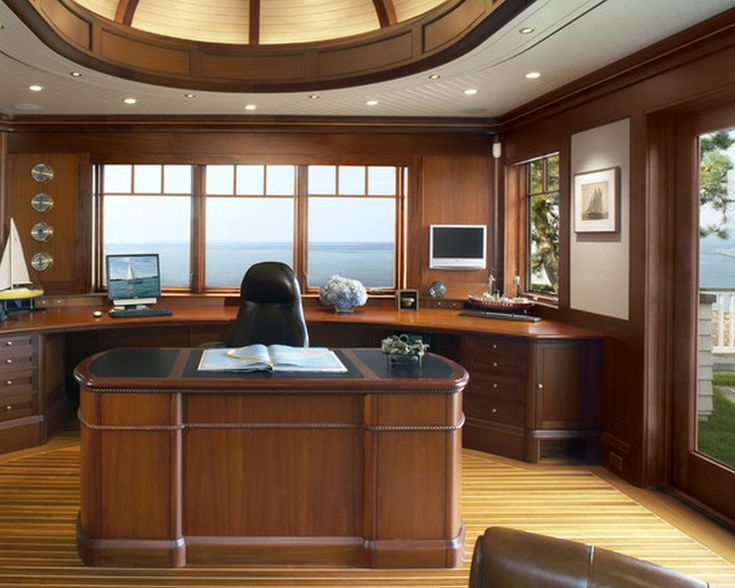 furnitureadorable mid century home office design for two people with cool brown nook wood