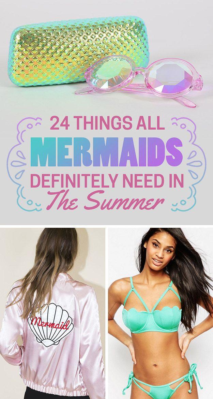 24 Things All Mermaids Definitely Need In The Summer