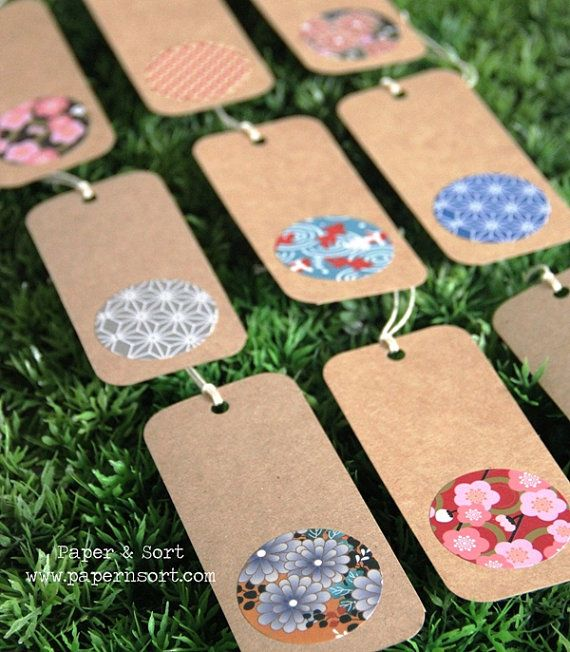 Japanese Inspired Escort Card by PaperNSort