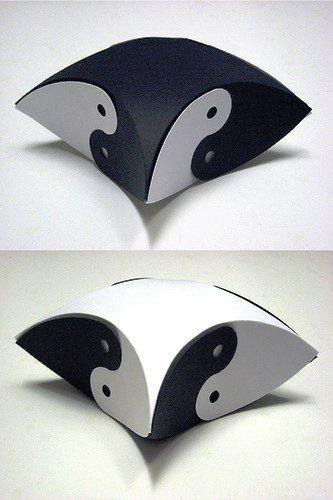 Коробочки Инь-Янь - Шаблоны.Коробки.Упаковки .
