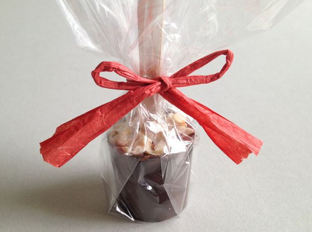 hot chocospoons chocolate spoons gift wrapping - warme chocolademelk chocolade lepels cadeau verpakt