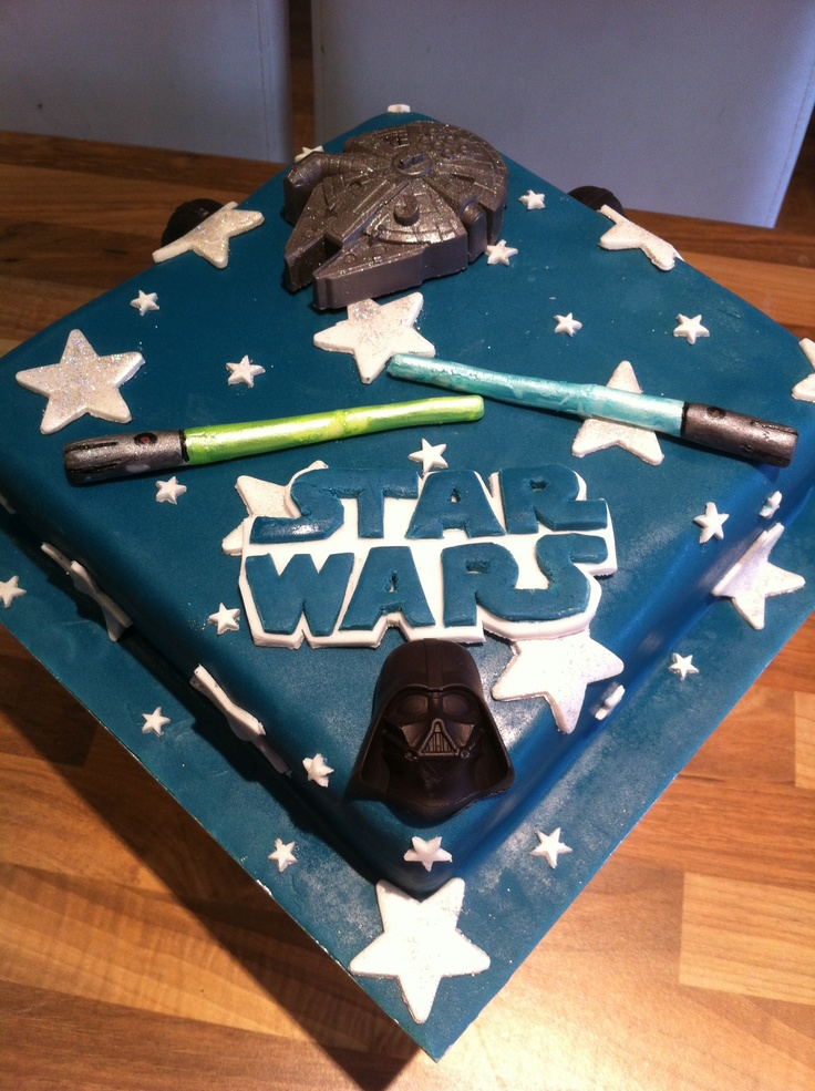 Star wars party, War and Star wars cake on Pinterest