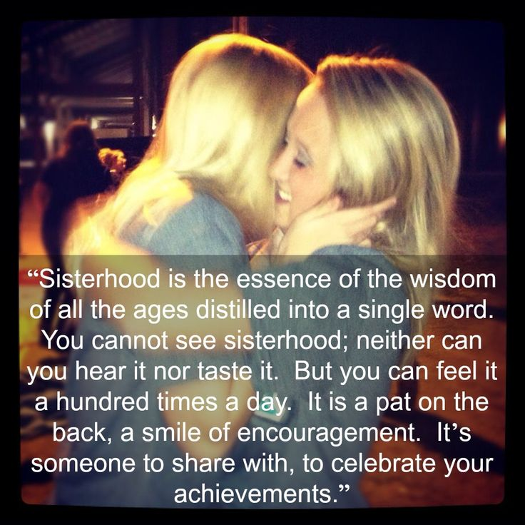 Sorority quote from the Delta Epsilon Chapter of AOII Alpha Omicron Pi
