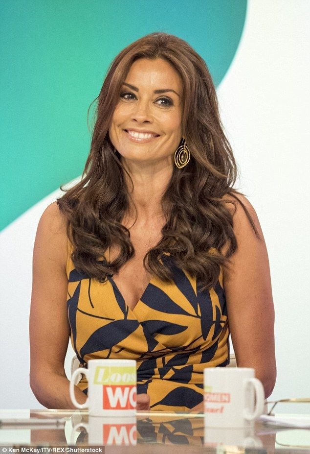 Good news: Melanie Sykes revealed she has finally found a school willing to take her 12-year-old son Valentino during an emotional appearance on ITV's Loose Women on Thursday