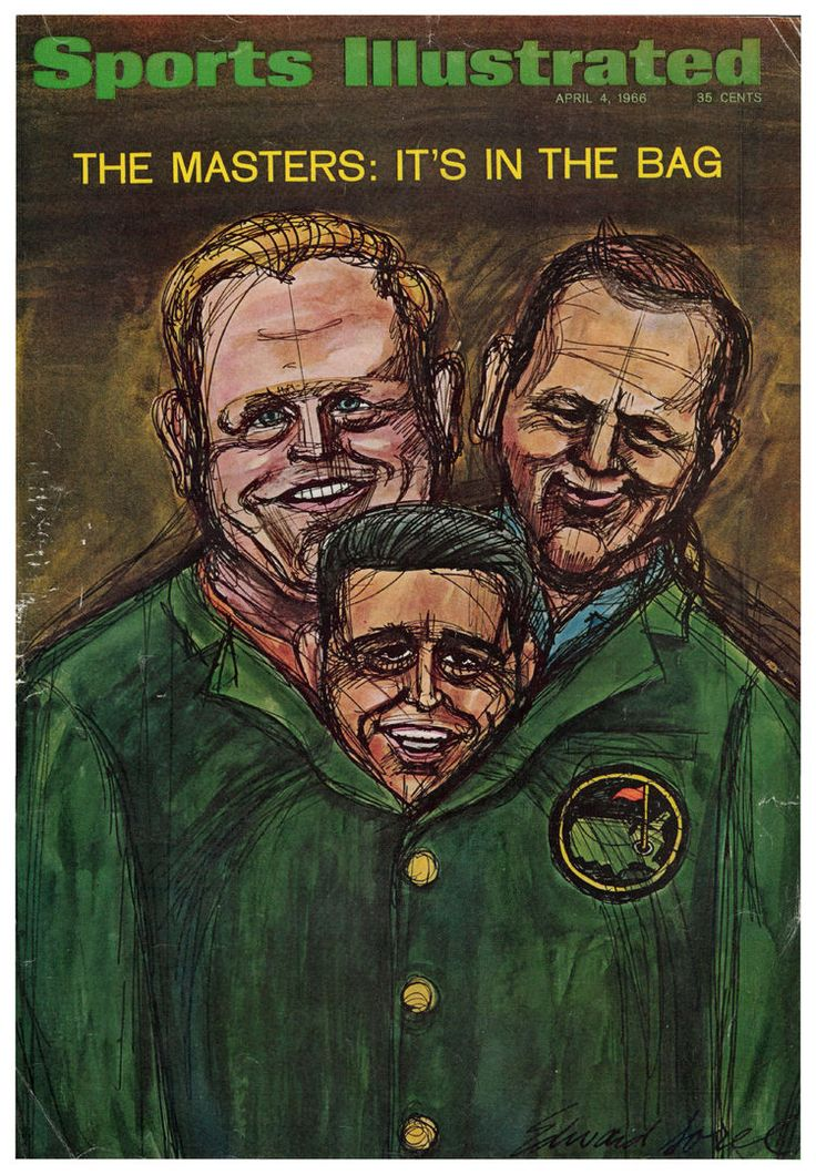 For throwback Thursday, let's revisit the 1966 Sports Illustrated Masters article on The Big Three: tinyurl.com/q3k3kre