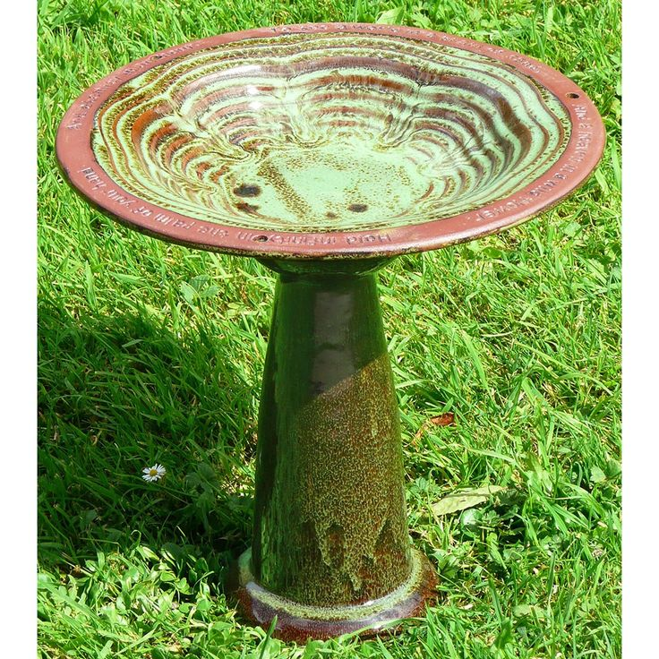 Echoes Ceramic Bird Bath | Wild Bird Baths | RSPB Shop