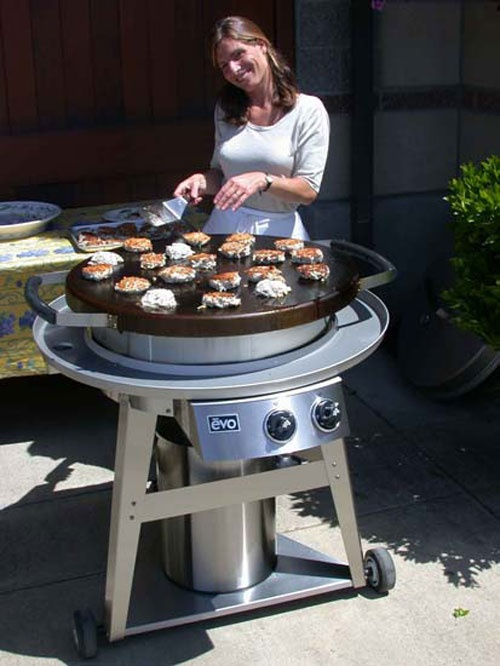 Evo Grill Circular Flat Top, Round Flat Top Grill For Outdoor Kitchen