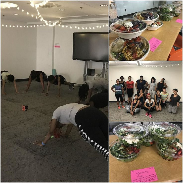 Last night's #BeyonceBootcamp was #FIERCE! Thanks to all of our attendees and to our sponsors @sweetgreen for the delicious #postworkout fuel. Be sure to follow us online @BlackGirlsNutrition for info on our August events. #BlackGirlsNutrition #HIVE #exercise #fitness #nutrition