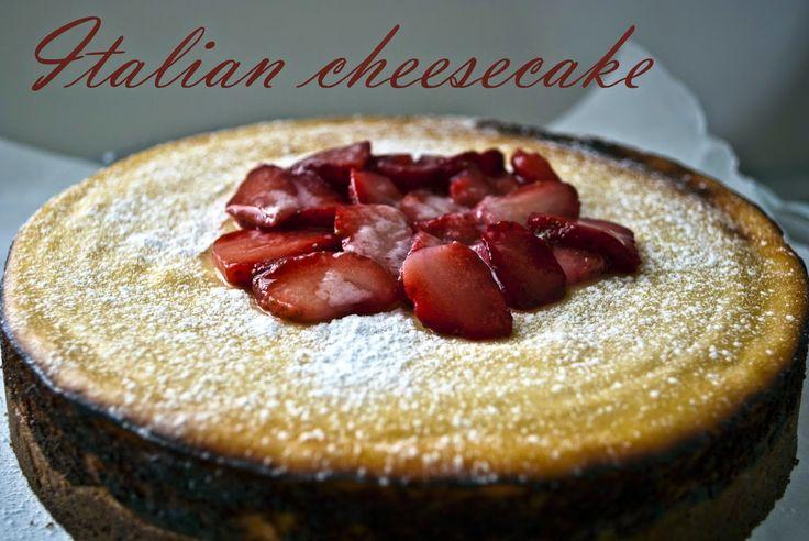W mojej holenderskiej kuchni: Italian cheesecake