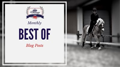 Monthly Round-Up: What You Should Not Have Missed On Dressage Hafl In August 2016   Don't you hate it when you do not have enough time to read all the interesting things on the Internet? And once you have enough time you will never find those interesting articles again. You are not alone - that is why I decided to round up the best blog post of each month for you. You're welcome!  [Teach Me Tuesday] Dressage: Just Sitting On A Horse For The Rich... My Response  Yesterday I read an article…