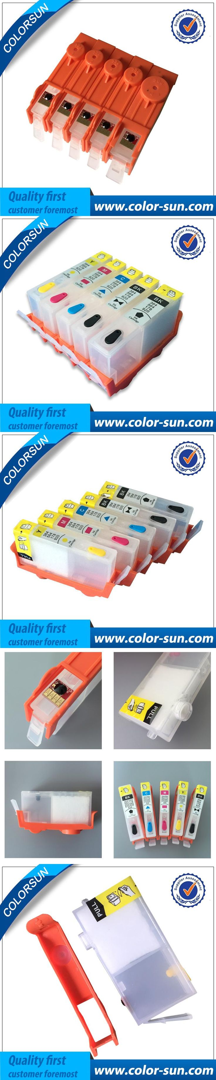 For HP 178 For refillable ink cartridge For HP smart printer