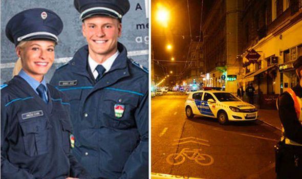 THE female police officer injured in the Budapest terror bomb attack has been woken from her coma but cannot remember a thing about the blast.