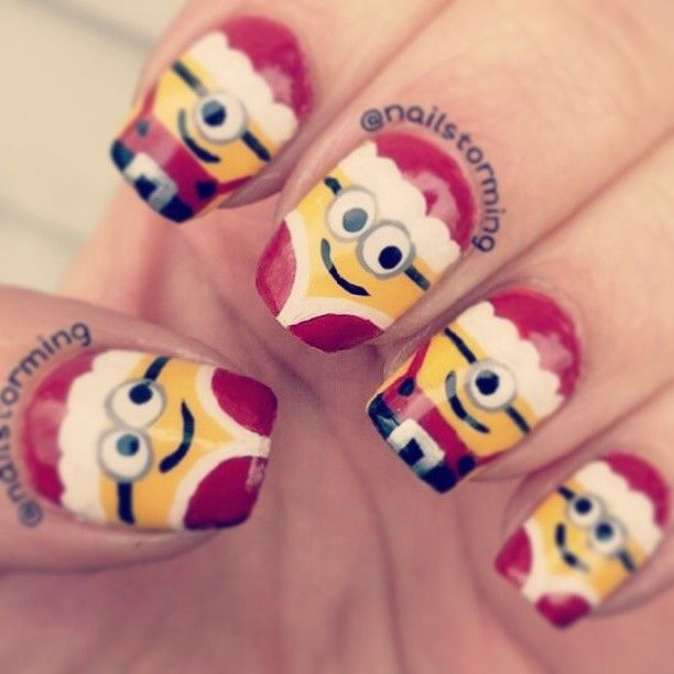 Love it!  But maybe only one nail on each finger.