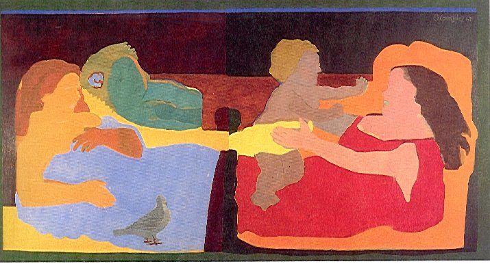 Beatriz González, El amor subsagrado y el amor subprofano, 1967