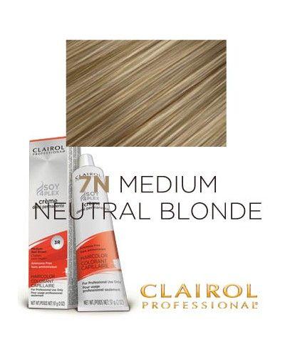 Clairol Professional Premium Creme Demi Hair Color 7N Medium Neutral Blonde