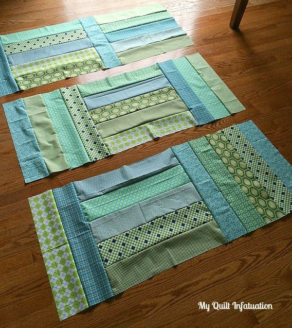 My Quilt Infatuation: Strip Tango Quilt
