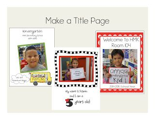 Creating a Kindergarten Portfolio — Kindergarten Kiosk