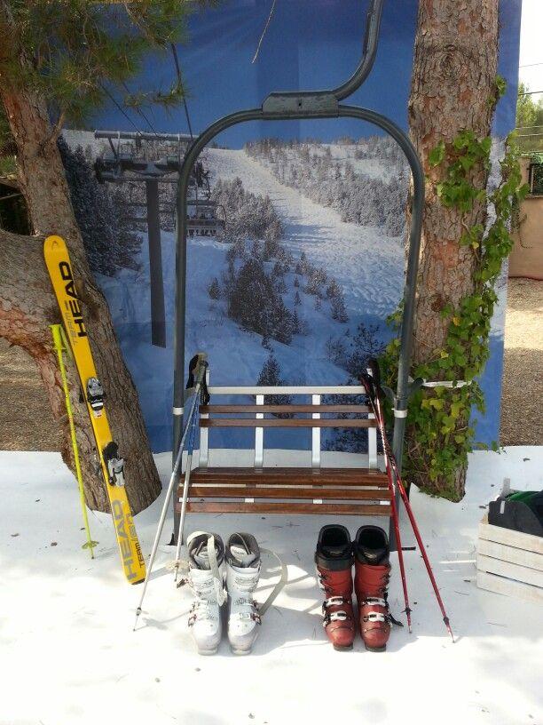 Photobooth for Ski lovers!