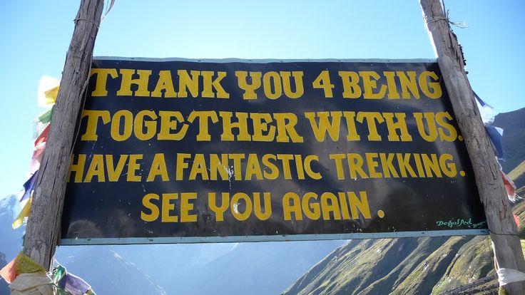 Goodbye from Annapurna Base Camp!   #nepal #himalayas #hikingnepal