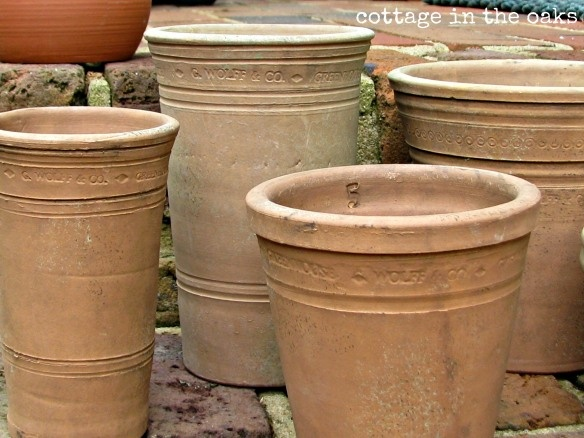 Love these clay pots