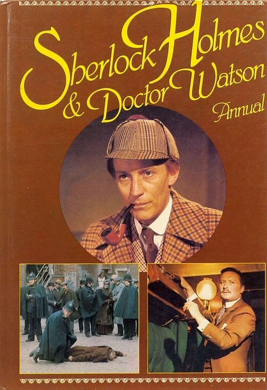 Front cover of the British annual which was published to tie-in with the series.