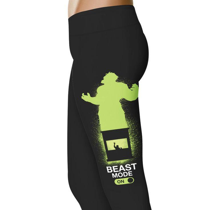 Beast Mode On Leggings