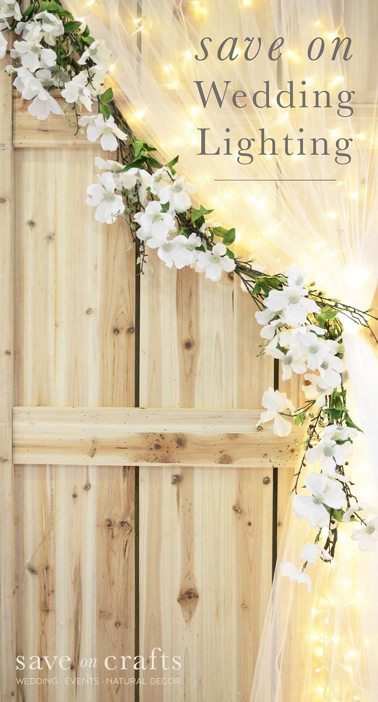 Making your wedding shine doesn't have to break the bank! We have discount lighting and more that will make planning for your big day a little easier