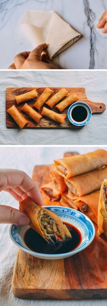 Homemade Spring Rolls by The Woks of Life