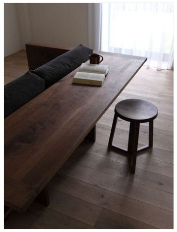 bench // table
