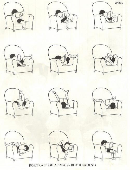 #Reading positions  #books #ebooks #comic
