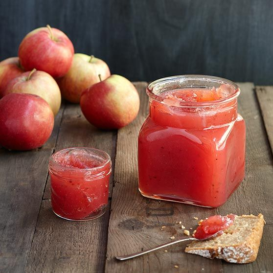 Punainen omenasose - Reseptejä