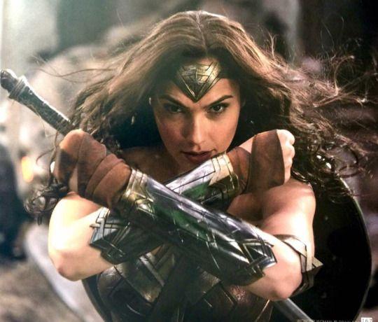 Gal Gardot as Wonder Woman