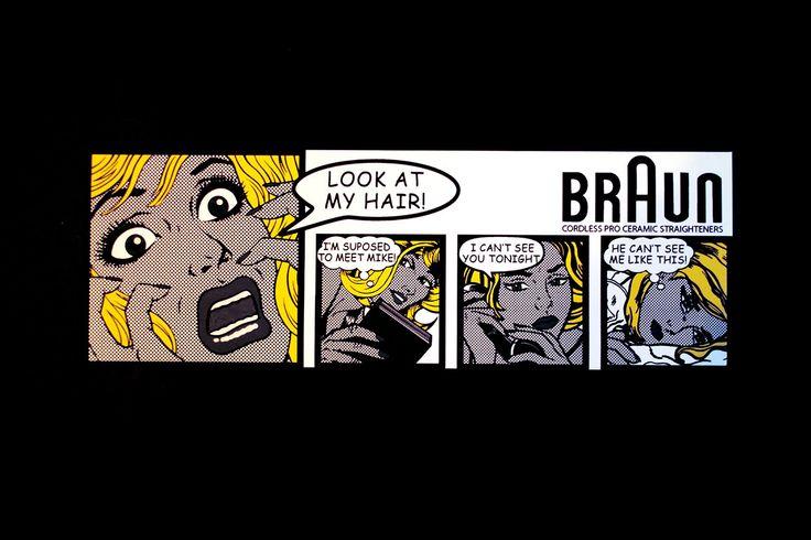 Braun Hair Straighteners.