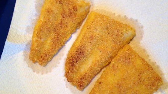 Fisch panieren ohne Ei