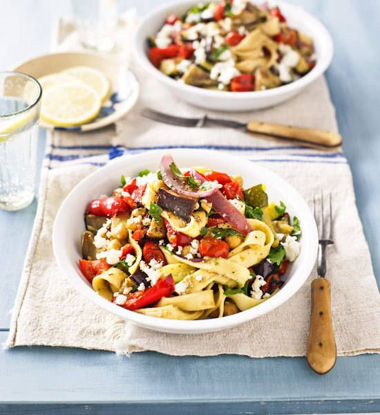 Roasted vegetable pasta - Better Homes and Gardens - Yahoo!7