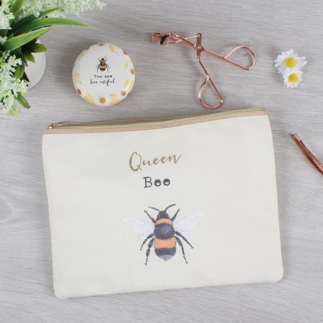 Queen Bee Makeup Pouch (1)